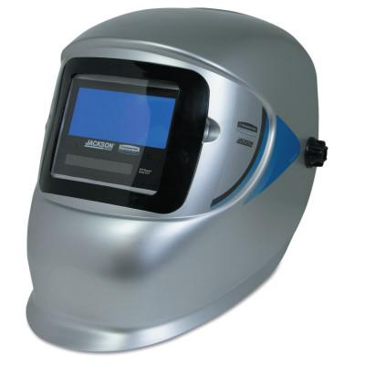 JACKSON SAFETY WH30 Element Fixed Shade 10 Auto-Darkening Filter, Green/Silver, 1 13/20 x 3.78