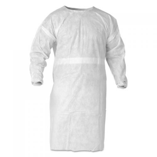 KleenGuard A20 Breathable Particle Protection Aprons, 12.937 X 19 3/8 in, White