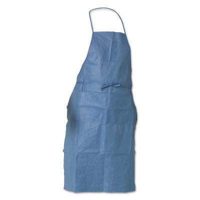 KIMBERLY-CLARK PROFESSION KleenGuard A20 Breathable Particle Protection Aprons, 28 in X 40 in, Denim Blue