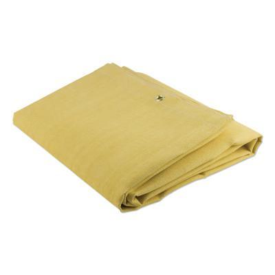 WILSON INDUSTRIES Weld-O-Glass Blankets, 6 ft X 6 ft, Silica, Tan, 19 oz