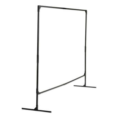 WILSON INDUSTRIES Stur-D-Screen Frame, 6 ft X 8 ft, Steel, Black