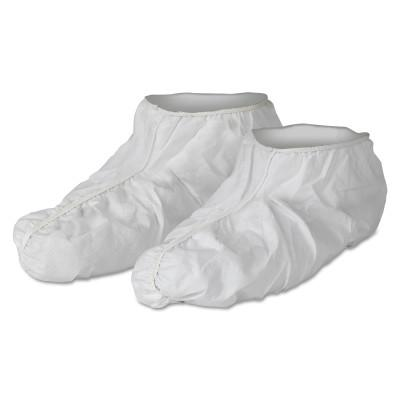 KIMBERLY-CLARK PROFESSION KleenGuard A40 Liquid and Particle Protection Shoe Covers, Universal, White