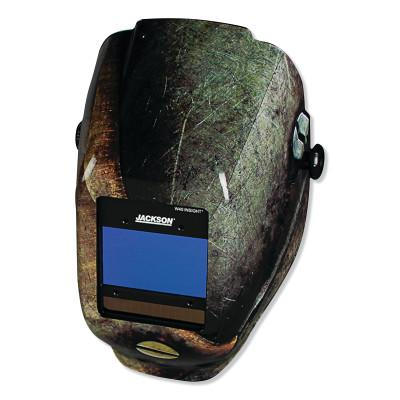 JACKSON SAFETY WH40 Insight Halo X Variable Welding Helmet, Green; 9-13, Halo X Metal