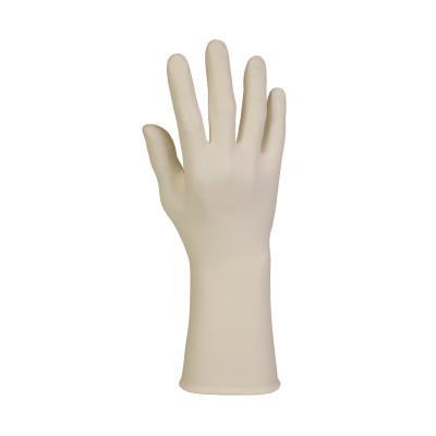 KIMTECH PFE-XTRA Latex Exam Gloves, Medium, Natural Rubber Latex