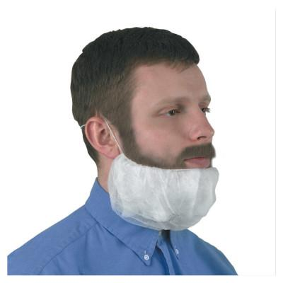 KIMBERLY-CLARK PROFESSION KleenGuard A10 Light Duty Beard Covers, Universal, White