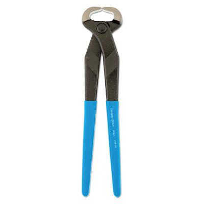 CHANNELLOCK Cutting Pliers-Nippers, 10 in, Polish, Plastic-Dipped Grip