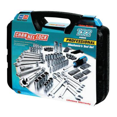 CHANNELLOCK 132 Pc. Mechanic's Tool Set, 24 in L