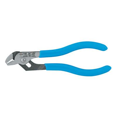 CHANNELLOCK Straight Jaw Tongue and Groove Pliers, 4 1/2 in, Straight, 3 Adj.