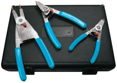 CHANNELLOCK Snap Ring Pliers Set, Replaceble Tip, 0.023 in Tip Min, 0.120 in Tip Max