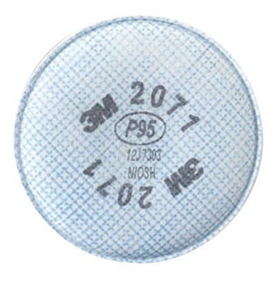 3M 2000 Series Filters, Solids/Liquids/Oil Based Part/Metal Fumes, P95