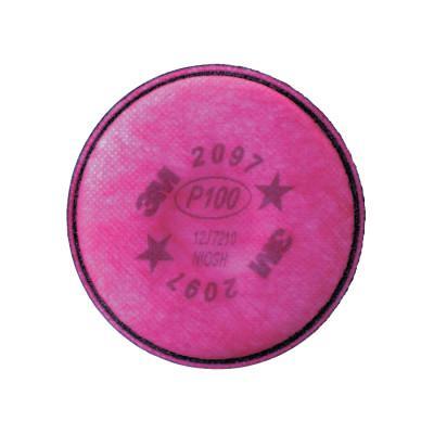 3M 2000 Series Filters, Nuisance Level Organic Vapor, P100, Magenta