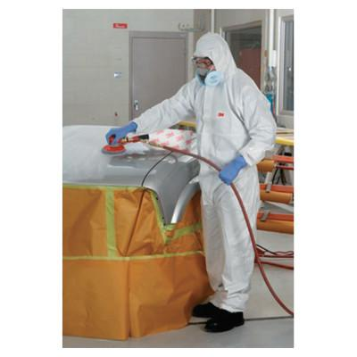 3M Disposable Protective Coverall 4510 Series, White, 2X-Large