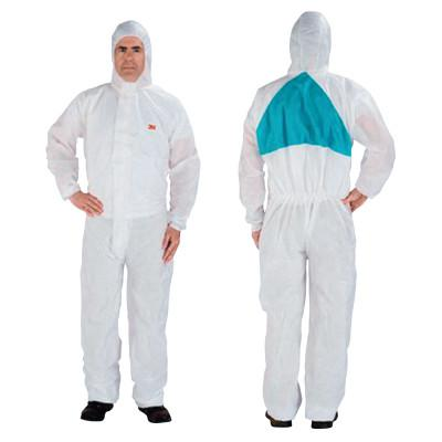 3M Disposable Protective Coverall 4520 Series, Teal/White, 3X-Large