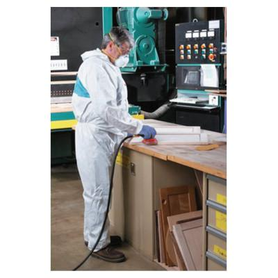 3M Disposable Protective Coverall 4520 Series, Teal/White, X-Large