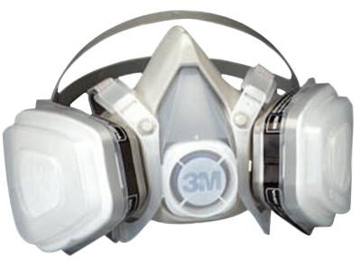 3M 5000 Series Half Facepiece Respirators, Small, Organic Vapors/P95