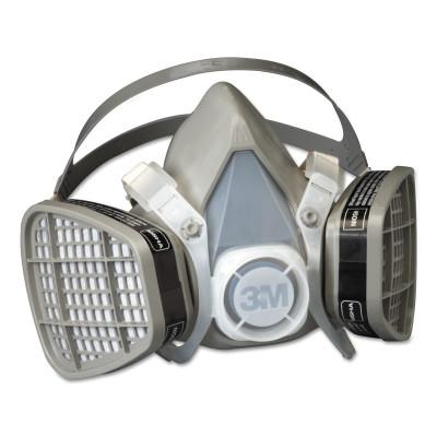 3M 5000 Series Half Facepiece Respirators, Medium, Organic Vapors