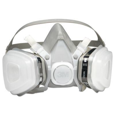 3M 5000 Series Half Facepiece Respirators, Medium, Organic Vapors/P95