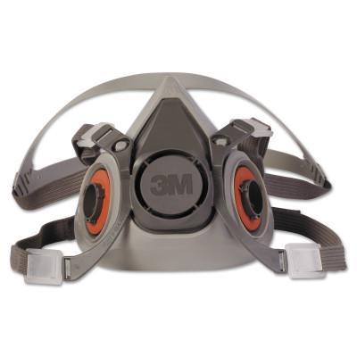 3M Half Facepiece Respirator 6000 Series, Medium