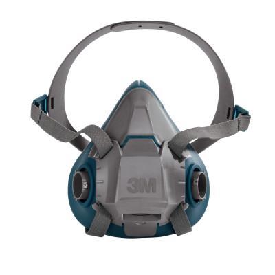 3M Rugged Comfort Half-Facepiece Reusable Respirators, Small