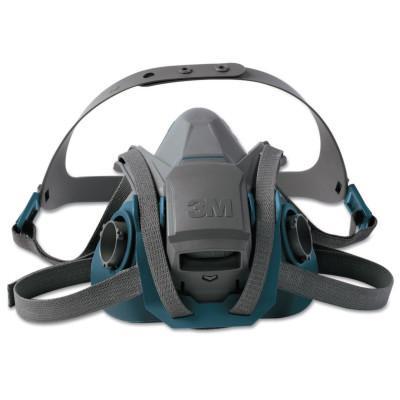 3M Rugged Comfort Quic-Latch Half-Facepiece Reusable Respirators, Medium