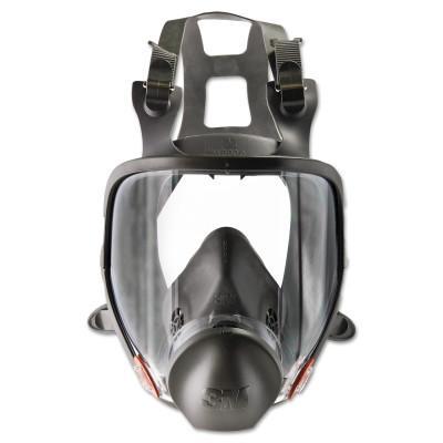 3M Full Facepiece Respirator 6000 Series, Medium, DIN Thread Port