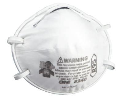 3M R95 Particulate Respirators, Half Facepiece, Oil/non-oil particles