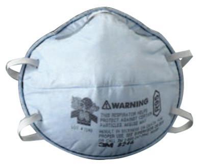 3M R95 Particulate Respirators, Half Facepiece, Oil/Non-Oil Use