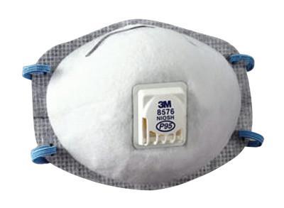 3M P95 Particulate Respirators, Half Facepiece, Oil/Non-Oil Use