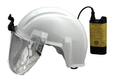 3M Airstream High Efficiency Mining Headgear-Mounted Systems, Filter, Battery Pack