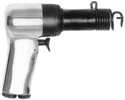 CHICAGO PNEUMATIC Riveting Hammers, 2 in Stroke L, 2,580 blows/min, Pistol Grip