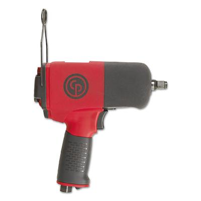 CHICAGO PNEUMATIC 1/2 in Drive Impact Wrenches, 110 ft lb - 553 ft lb, Ring Retainer