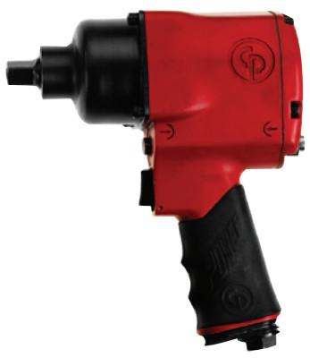CHICAGO PNEUMATIC 1/2 in Drive Impact Wrenches, 3600 ft lb - 525 ft lb, Pin Retainer