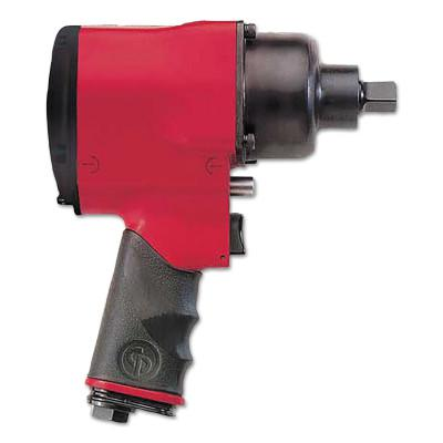 CHICAGO PNEUMATIC 1/2 in Drive Impact Wrenches, 3600 ft lb - 525 ft lb, Friction Ring Retainer