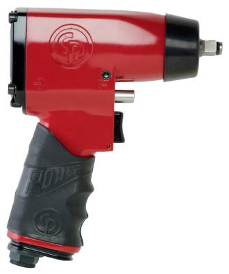 CHICAGO PNEUMATIC 3/8 in Drive Impact Wrenches, 40 ft lb - 170 ft lb, Friction Ring Retainer