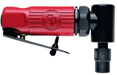 CHICAGO PNEUMATIC Angle Die Grinders, 1/4 in (NPTF), 22,500 rpm, 0.3 hp