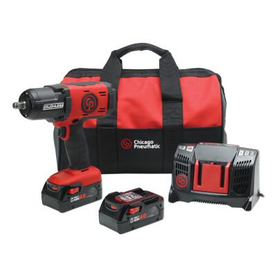 CHICAGO PNEUMATIC 1/2 in Cordless Impact Wrench Kit
