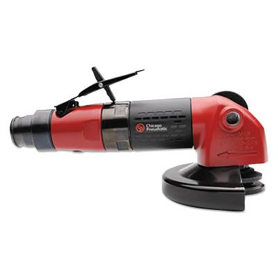 """CHICAGO PNEUMATIC ANGLE GRINDER 4"""" 1.1 HP 3/8""""-24 SPINDLE- 1.1 HP"""