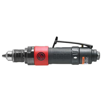 CHICAGO PNEUMATIC CP887C Reversible Drill, 3/8 in Chuck, 2,000 rpm, Keyed
