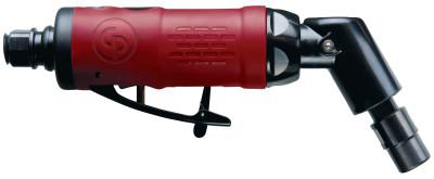 CHICAGO PNEUMATIC Angle Die Grinders, 1/4 in (NPT); 6.00 mm, 23,000 rpm