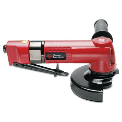 """CHICAGO PNEUMATIC Angle Grinders, 4"""" Wheel Dia, 12,000 rpm Free Speed"""