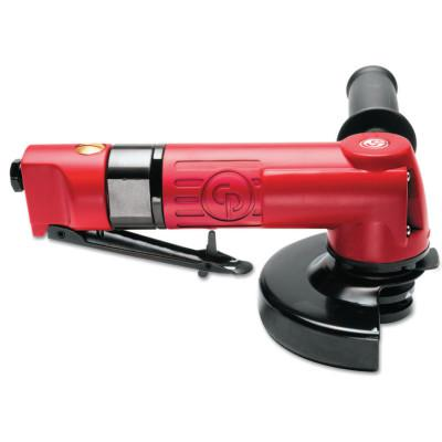 """CHICAGO PNEUMATIC Angle Wheel Grinder 4 1/2"""" Disc, 5/8""""-11 Spindle"""