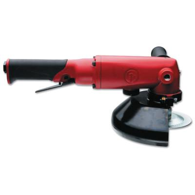 """CHICAGO PNEUMATIC Angle Grinders, 7"""" Wheel Dia, 7,500 rpm Free Speed"""