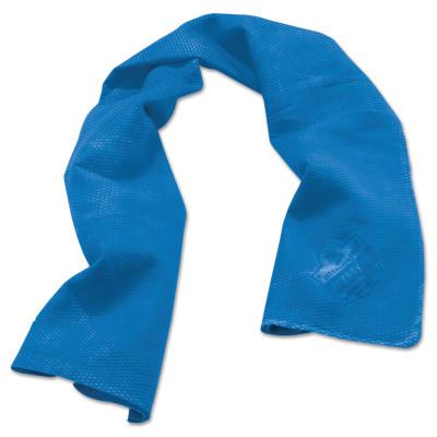 ERGODYNE Chill-Its 6602 Evaporative Cooling Towels, 13 1/2 in X 29 1/2 in, Solid Blue