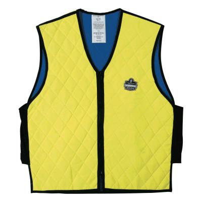ERGODYNE Chill-Its 6665 Evaporative Cooling Vests, Medium, Lime