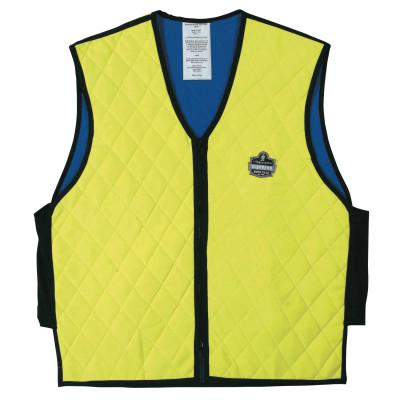 ERGODYNE Chill-Its 6665 Evaporative Cooling Vest, 3X-Large, Lime