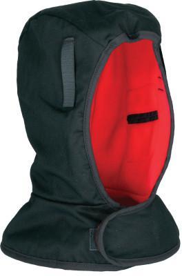 ERGODYNE Light Duty Winter Liners, Cotton Twill, Polyester Fleece Lining, Black/Orange
