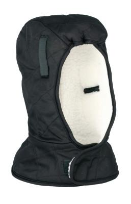 ERGODYNE Heavy Duty Winter Liners, Quilted Nylon, Polyester Sherpa Lining, Black/White