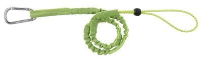 ERGODYNE Squids 3100 Tool Lanyard, 35 in to 42 in x 1 in, 5 lb, Lime