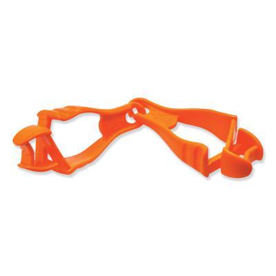 ERGODYNE Squids 3400 Grabber-Dual Clip, Hi-Viz Orange