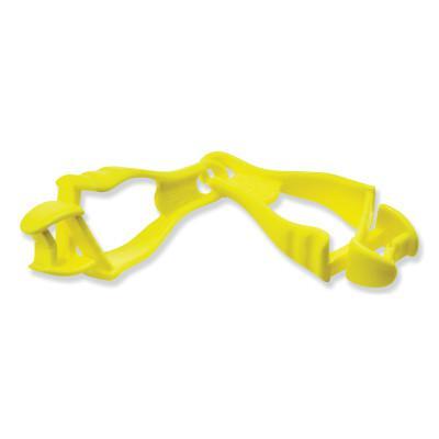 ERGODYNE Squids 3400 Grabber-Dual Clip, Hi-Viz Lime Green